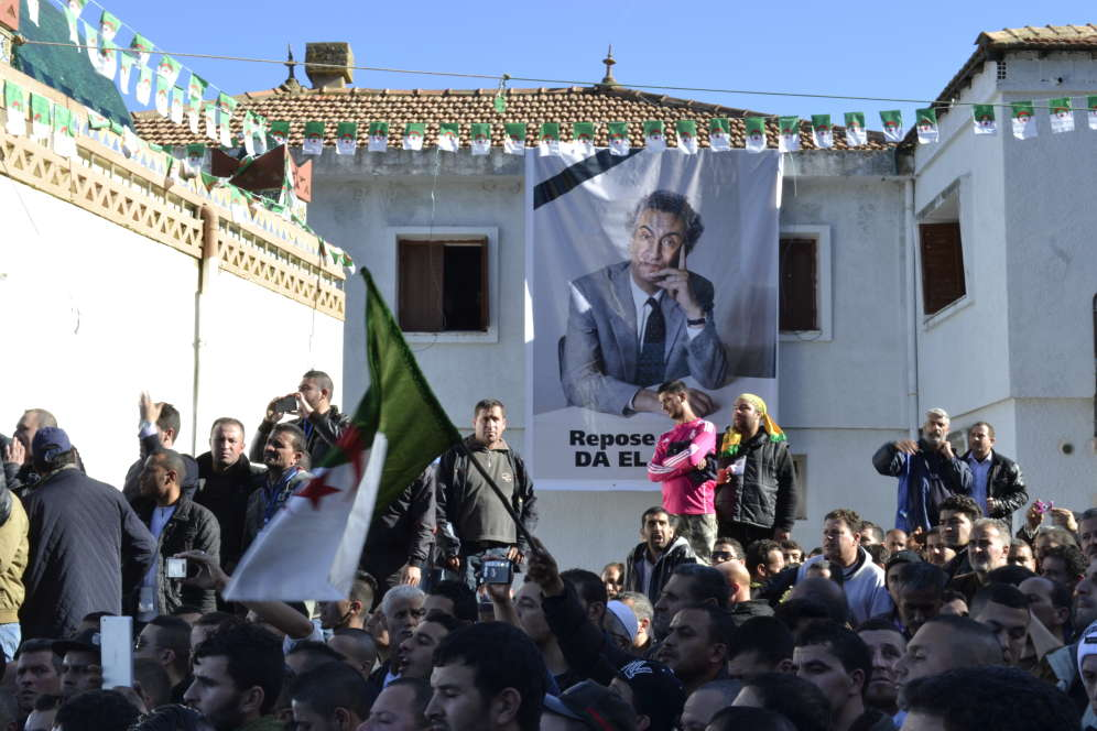 « Il aimait profondément son pays, l'Afrique et le tiers-monde. J'ai exercé 12 ans auprès de lui et je vous avoue qu'il m'est très difficile d'être à la hauteur de ses aspirations », a confié Ahmed Djeddaï, ancien premier secrétaire du Front des forces socialistes.