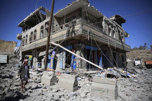 La guerre au Yémen a tué près de six mille personnes depuis mars2015, selon les Nations unies.