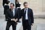 François Hollande et Nicolas Sarkozy à l'Elysée, le 15 novembre 2015.