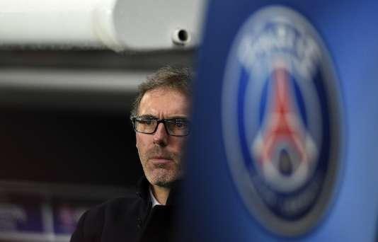 Laurent Blanc, lors de la rencontre entre le PSG et Donetsk, le 8 décembre.