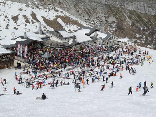 La station de ski de Val-d'Isère, en 2011.