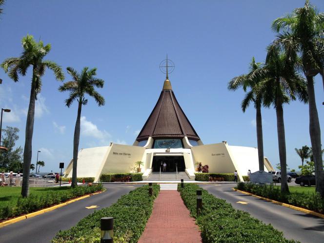 L'étonnante église Ermita de la Caridad.