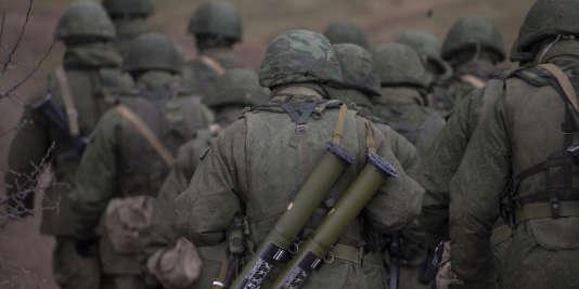 Selon Kiev et les occidentaux, des troupes d'élite du GRU ont participé aux combats aux côtés des séparatistes pro-russes dans l'est de l'Ukraine.
