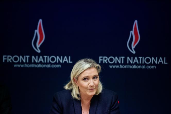 Marine Le Pen en novembre 2015.