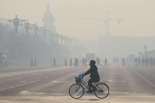 A Pékin, le 21 décembre 2015.