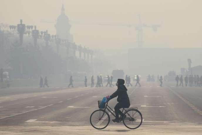 A Pékin, en décembre 2015.