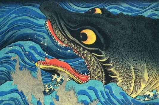 Estampe de Kuniyoshi.