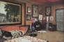 """Image du salon de Jacques Doucet, rue Saint-James, à Neuilly, parue dans le journal """"L'Illustration"""" en1930."""