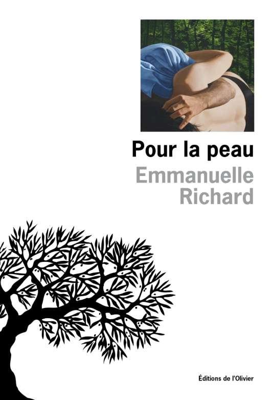 """Première de couverture du livre """"Pour la peau"""" d'Emmanuelle Richard."""