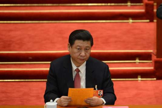 Xi Jinping, à Pékin, en 2013.