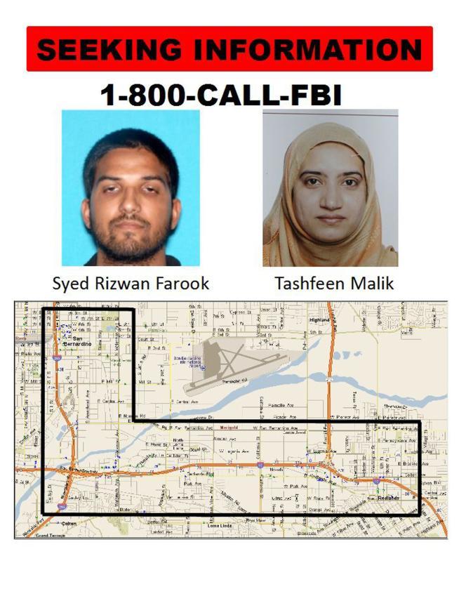 Le FBI a lancé un appel à témoins pour comprendre où se sont rendus les terroristes avant le face-à-face fatal avec la police.