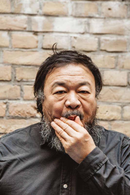 Ai Weiwei à Berlin en décembre 2015.