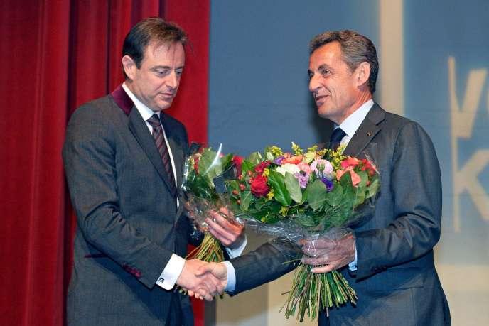 Le président des Républicains et le maire (N-VA) d'Anvers, Bart De Wever, le 6 janvier.