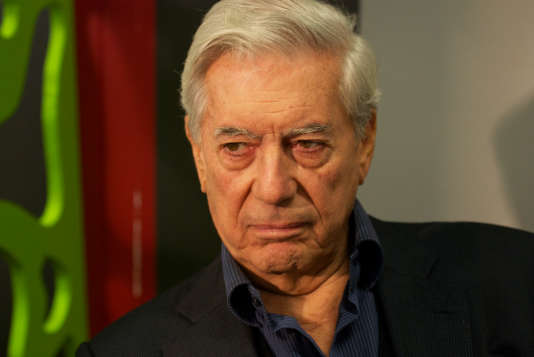 L'écrivain péruvien Mario Vargas Llosa.