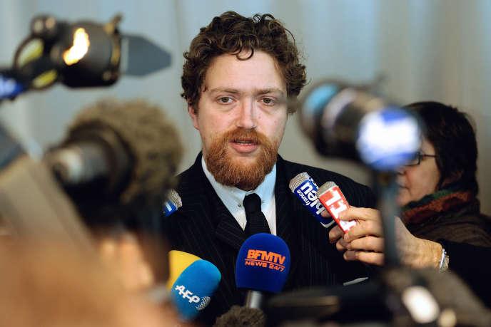 Xavier Dectot, alors directeur du Louvre-Lens, le 8 février 2013.