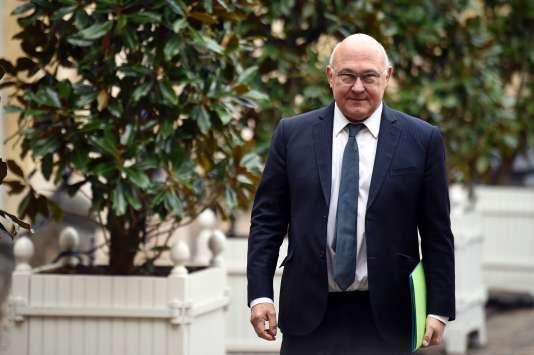 Michel Sapin à Matignon, le 6 janvier.