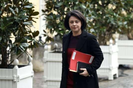 La ministre du logement Sylvia Pinel, le 6 janvier 2015.