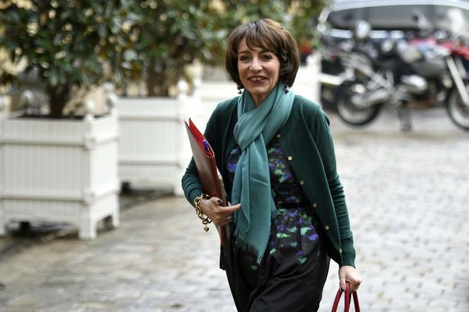 Marisol Touraine, le 6 janvier à Matignon.