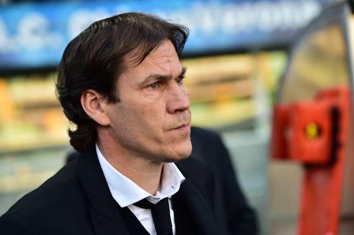 Arrivé en juillet 2013, Rudi Garcia a porté à deux reprises l'AS Roma à la deuxième place du championnat (2014 et 2015), derrière la Juventus Turin.