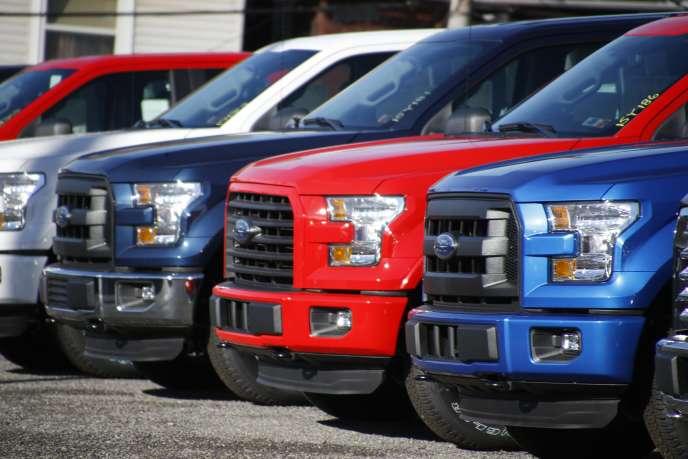 Le pick-up Ford F-150 est la voiture la plus vendue aux Etats-Unis, avec plus de 780000 unités écoulées en 2015.