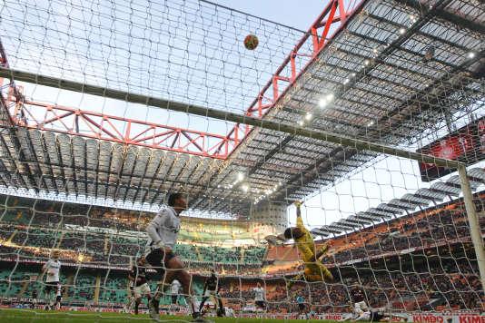 Stade San Siro, à Milan, le 6 janvier.