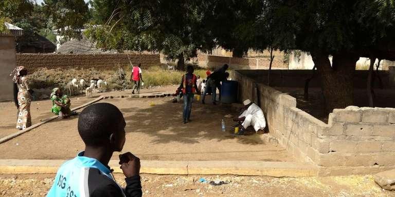 Dans le camp de déplacés de Minawao, près de Maroua, au nord du Cameroun.