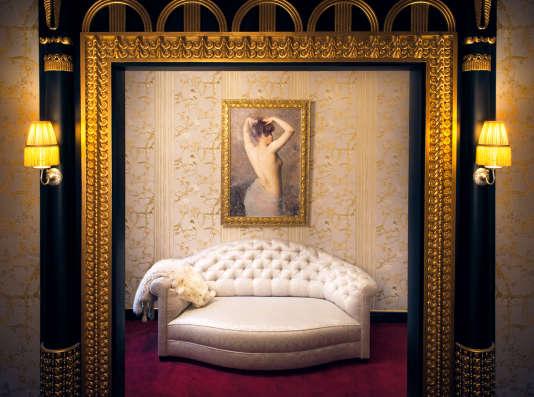 La Maison Souquet, dans le 9e arrondissement de Paris, est un ancien lupanar rénové en 2014 par Jacques Garcia.