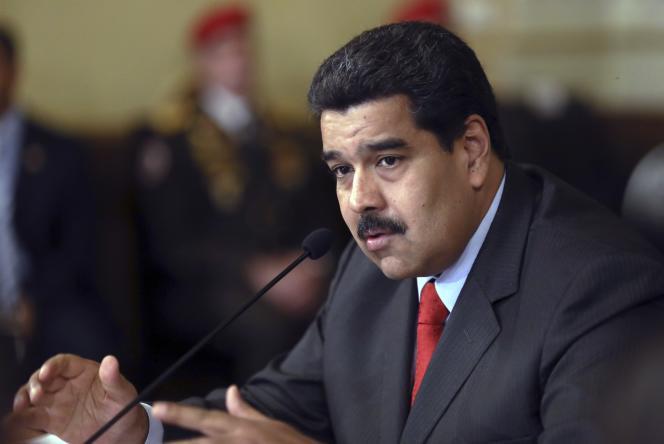 Le président vénézuélien, Nicolas Maduro, à Caracas le 6 janvier.