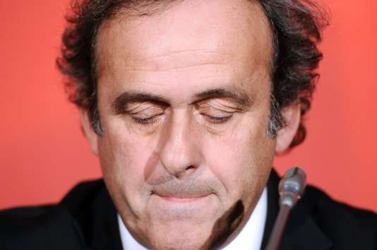 Michel Platini, le 23 octobre 2012 à Paris.