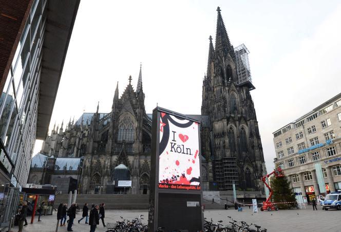 La cathédrale de Cologne, en Allemagne, le 7 janvier 2016.