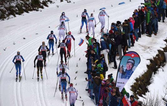 Etape de Coupe du monde à Oberstdorf le 6 janvier.