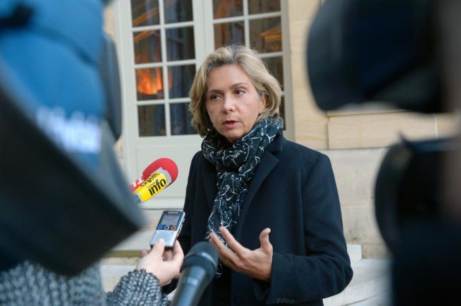 La présidente de la région Ile-de-France et membre du parti Les Républicains, Valérie Pécresse, le 7 janvier 2016.