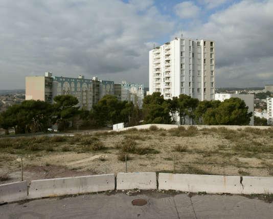 Quartiers Nord de Marseille.