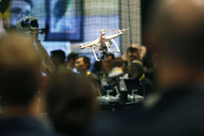 Chaque année, le CES de Las Vegas (ici l'édition 2016) est le rendez-vous de l'économie du drone.