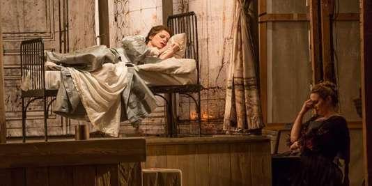 L'une des scènes des « Noces de Figaro », dans la mise en scène d'Ivan Alexandre.