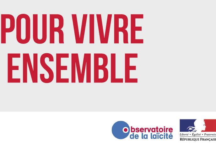 « La majorité des Français, dont des croyants, ne veulent pas revenir sur ce compromis fondé sur le caractère privé et apolitique de la conviction religieuse» (Photo: affiche du Conservatoire de la laïcité).