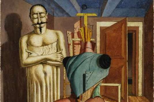 """""""Il Ritornante """" (Le Retour de Napoléon III ; Napoléon III ; Carvour), de Giorgio De Chirico (1888 - 1978)."""