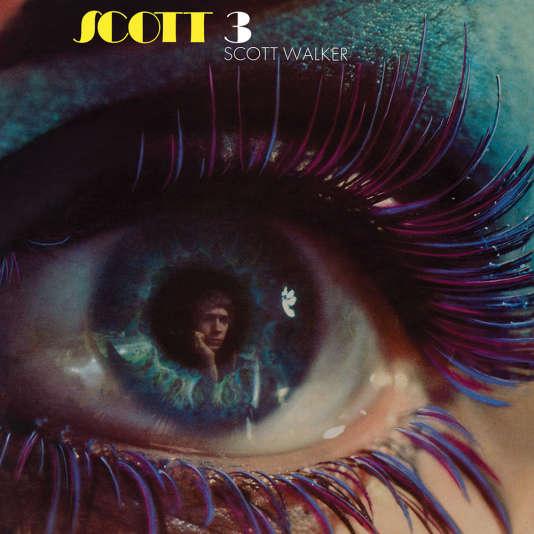 """L'album """"Scott 3""""  de Scott Walker sorti en 1969, dont les trois derniers morceaux sont des reprises de Jacques Brel."""