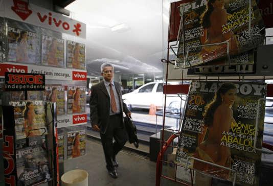 Dans un kiosque brésilien, en 2007