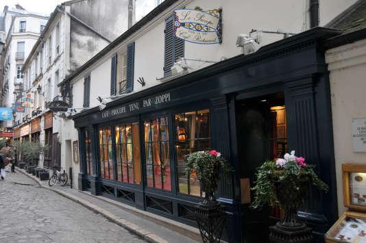 Le café Procope, l'un des plus vieux de la capitale, pourrait être acquis par le propriétaire de Quick, Olivier Bertrand.
