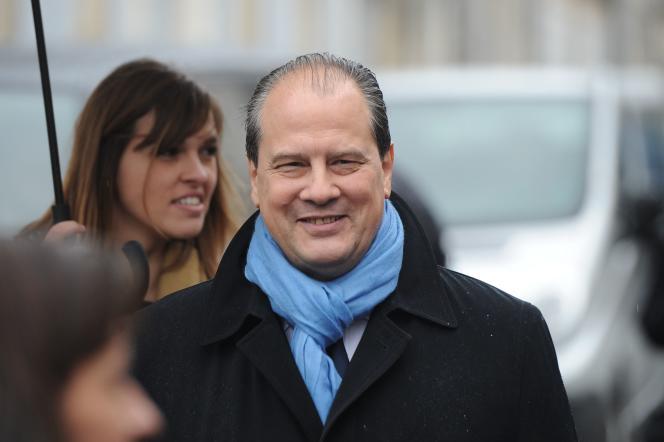 Le premier secrétaire du PS, Jean-Christophe Cambadélis, à Jarnac le 8 janvier.