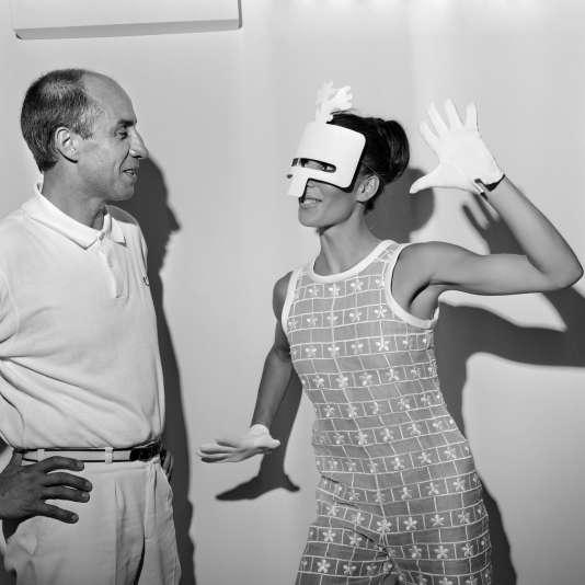 André Courrèges en 1967.