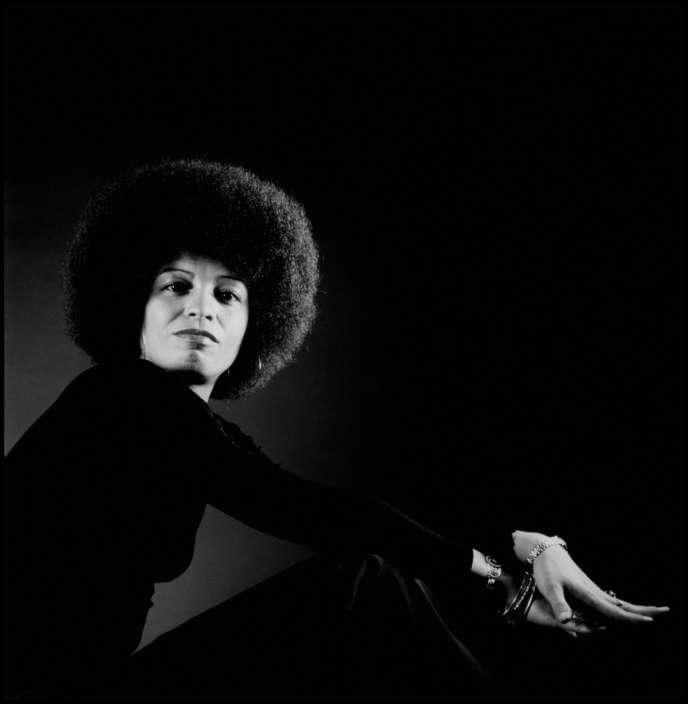Angela Davis, en 1973.