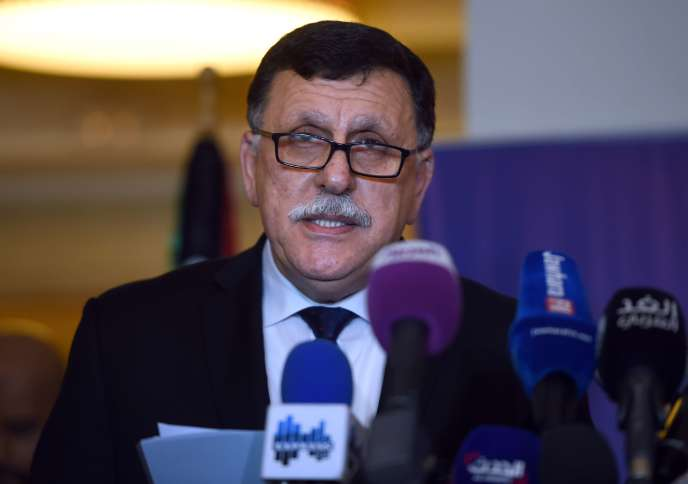 Faïez Sarraj, le 8 janvier à Tunis.