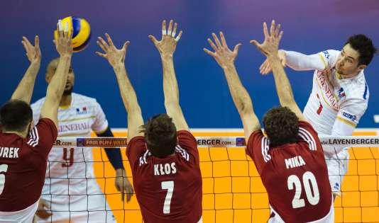 Kevin Tillie et les volleyeurs français disputeront leur qualification olympique lors d'un tournoi à Tokyo en mai prochain.