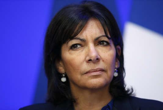 Anne Hidalgo à la COP21 le 25 novembre 2015.