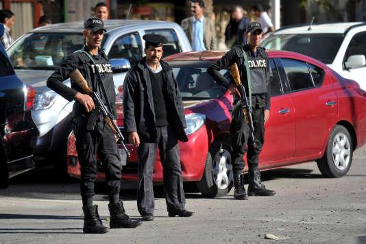 Lors d'une précédente attaque à Hurghada, en janvier.
