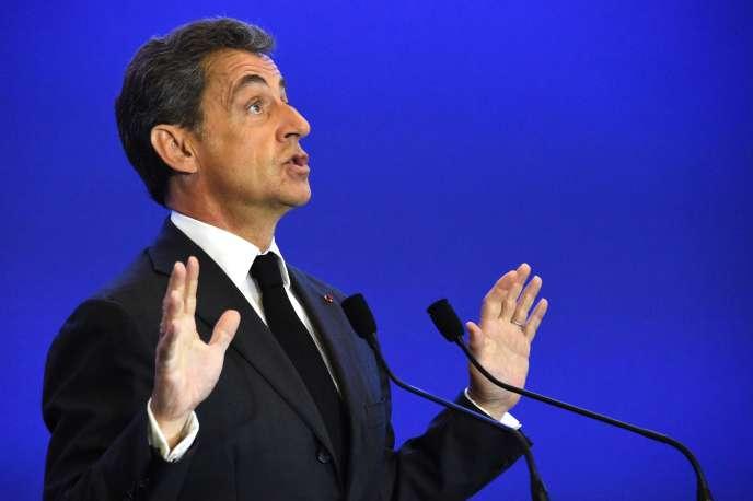Nicolas Sarkozy le 9 janvier 2016 à Paris.