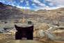 Dans une mine de cuivre, près de Santiago.