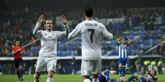 Gareth Bale et Cristiano Ronaldo.
